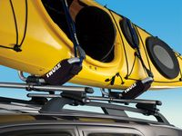 Ford F-250 Super Duty Racks and Carriers by THULE;Folding Kayak Carrier - VAT4Z-7855100-H