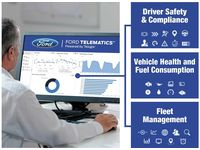 Ford F-150 Telematics;Powered by Telogis - VHC3Z-70G476-B