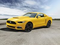 Ford Scoop;Hood, Triple Yellow - VHR3Z-16C630-AD