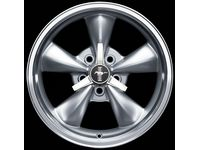 "Ford Mustang 17"" Painted Silver Aluminum Wheel - 5R3Z-1007-CA"