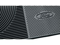 Ford E-150 Floor Mats - All-Weather Thermoplastic Rubber, Black 2-Pc. Set - 6C2Z-1613086-A