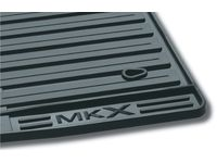 Lincoln MKX Floor Mats - All-Weather Thermoplastic Rubber, Black - 7A1Z-7813300-A