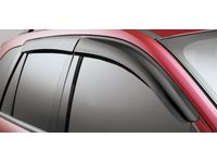 Lincoln MKX Side Window Deflectors - 7T4Z-18246-A