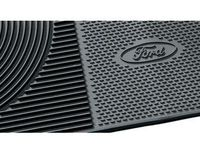 Ford E-150 Floor Mats - All-Weather Thermoplastic Rubber, Black 2-Pc. Set - BC2Z-1613086-CB