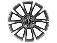 Ford Mustang Wheel - 19 Inch Foundry Black - BR3Z-1007-D