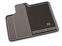 Ford F-550 Super Duty Floor Mats - All-Weather Thermoplastic Rubber, Black Regular Cab - DC3Z-2513086-A
