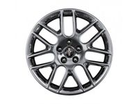 Ford Mustang Wheel - 18 Inch Sterling Gray Metallic Painted Aluminum, Mustang Club of America - DR3Z-1K007-B