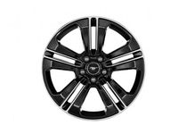 Ford Mustang Wheel - 19 Inch Black Painted Machined Aluminum, Cal Special - DR3Z-1K007-C