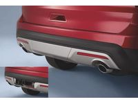 Ford Explorer Fascia - Rear Lower, Silver Lining, For XLT/Limited - GB5Z-17K835-BA