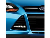 Ford Focus Accent Light - Gloss Black - VDV6Z-13200-A