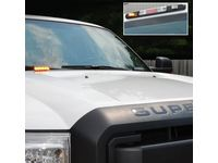 Ford F-450 Super Duty LED Warning Strobes by Soundoff Signal - 4 Corner Strobe Light, With Up-Fitter Switch - VEC3Z-13C788-A