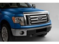 Ford AL3Z-16C900-D Hood Deflector - Chrome