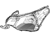 Ford Headlight - 8S4Z-13008-E