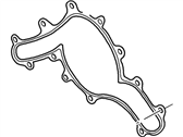 Mercury Water Pump Gasket - 1L2Z-8507-AA