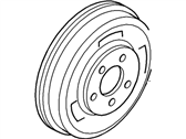 Ford Brake Drum - YL8Z-1126-AA