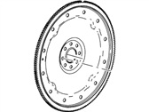 Ford E-350/E-350 Super Duty Flywheel - 4C3Z-6375-AA