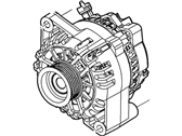 Ford 1R3Z-10346-A Alternator Assembly
