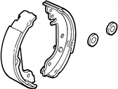 Mercury Cougar Brake Shoe - XS8Z2200AA