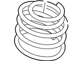 Ford Flex Coil Springs - 8A8Z-5310-B