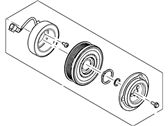 Ford A/C Idler Pulley - BR3Z-19D784-C