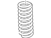 Ford Coil Springs - 5C3Z-5310-CA