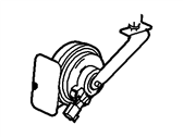 Genuine Ford 2W7Z-13800-AA High Pitch Horn Assembly