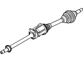 Ford Flex Axle Shaft - CA8Z-3B436-H