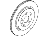 Ford Explorer Brake Disc - DG1Z-2C026-A