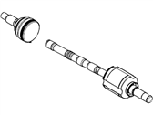 Lincoln MKX Axle Shaft - 7T4Z-3A427-B