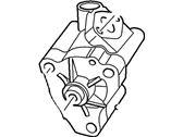 Ford Transit Connect Oil Pump - 8E5Z-6600-A