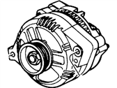 Ford 2F1Z-10V346-BCRM Alternator Assembly