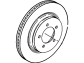 Ford Explorer Brake Disc - 6L2Z-1125-AA