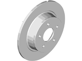 Ford Transit Connect Brake Disc - DV6Z-2C026-A