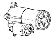 Ford Starter - F81Z-11002-AARM