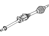 Lincoln MKS Axle Shaft - CA5Z-3B436-D