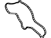 Lincoln MKS Water Pump Gasket - DG1Z-8507-A