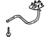 Ford Contour Lift Support - F5RZ-54406A10-B