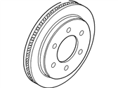 Ford Expedition Brake Disc - 6L1Z-2C026-A