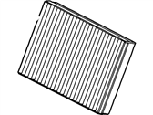 Lincoln Cabin Air Filter - XW4Z-19N619-AC