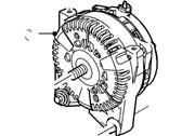 Ford Explorer Alternator - F8OZ-10346-CA