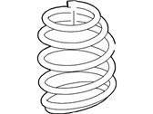 Ford Fiesta Coil Springs - BE8Z-5310-A