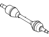 Lincoln MKS Axle Shaft - 8A8Z-3B437-D