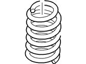Ford Explorer Coil Springs - BB5Z-5560-A