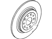 Ford Flex Brake Disc - 8G1Z-2C026-B