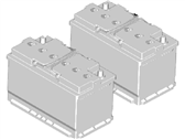Lincoln Continental Car Batteries - BXT-48H6-610