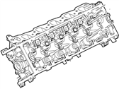 Ford Excursion Cylinder Head - 3C3Z-6049-CARM