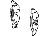 Lincoln Mark VI Brake Shoe - D9AZ-2200-B