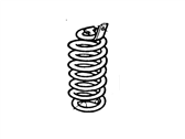 Ford F4TZ5310E Spring Front