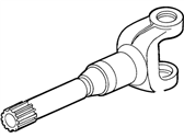 Ford Tempo Axle Shaft - E83Z-4234-A