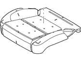 Ford Explorer Seat Cushion - BB5Z-78632A23-B